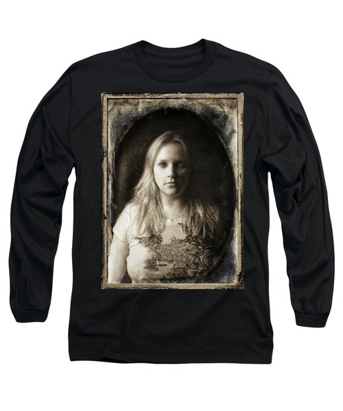 Vintage Tintype Ir Self-portrait Long Sleeve T-Shirt
