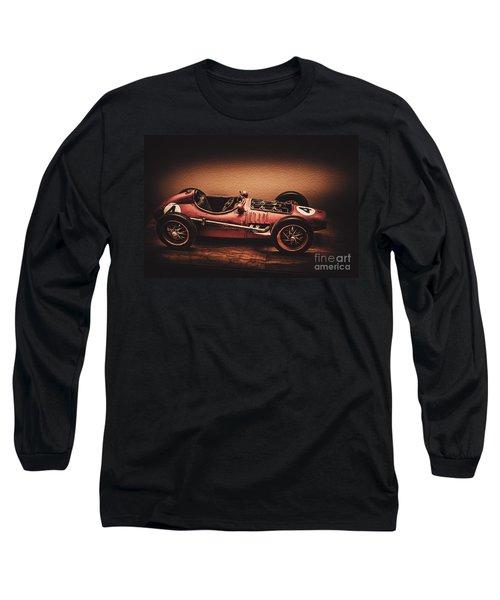 Vintage Toy Model Racing Car Long Sleeve T-Shirt