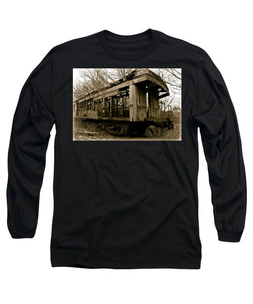 Vintage Train Long Sleeve T-Shirt