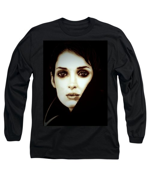 Vintage Winona Ryder Long Sleeve T-Shirt by Fred Larucci
