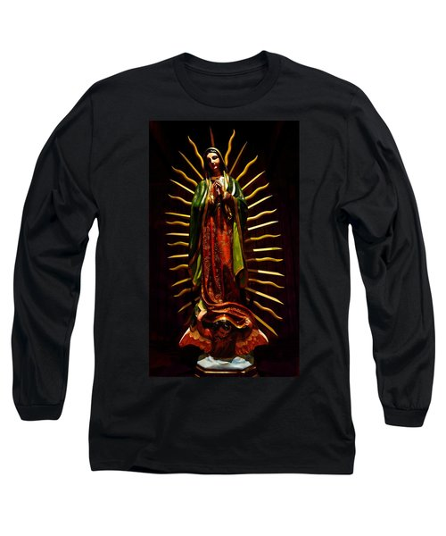 Virgin Of Guadalupe Long Sleeve T-Shirt