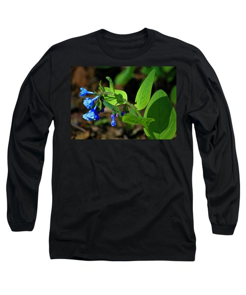 Virginia Bluebells Long Sleeve T-Shirt