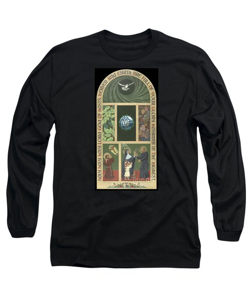 Viriditas - Finding God In All Things Long Sleeve T-Shirt by William Hart McNichols