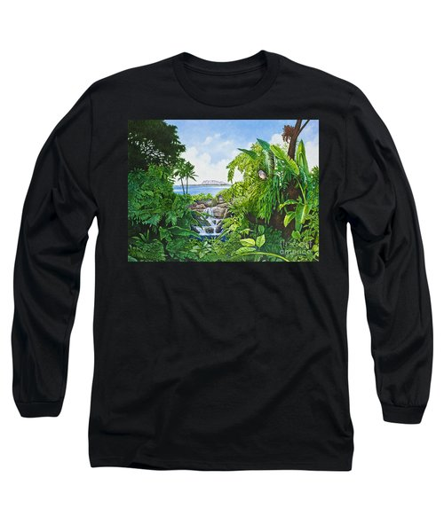 Visions Of Paradise Ix Long Sleeve T-Shirt by Michael Frank