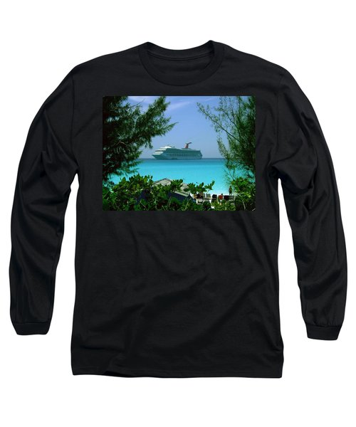 Visiting Paradise Long Sleeve T-Shirt