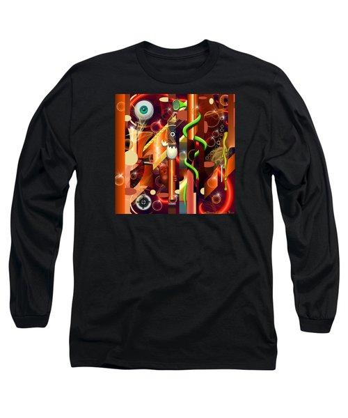 Visual Jazz Long Sleeve T-Shirt