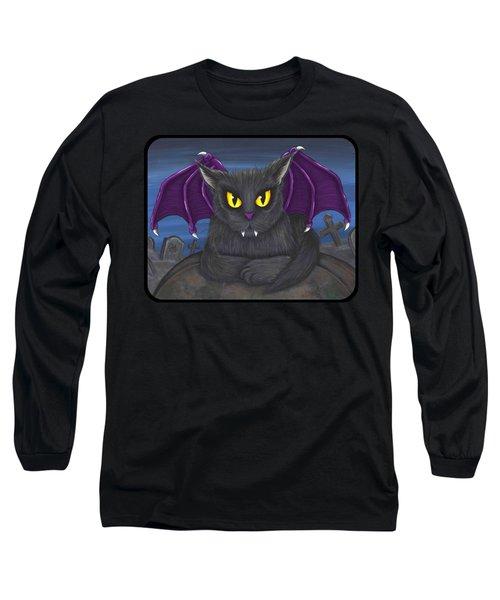 Vlad Vampire Cat Long Sleeve T-Shirt