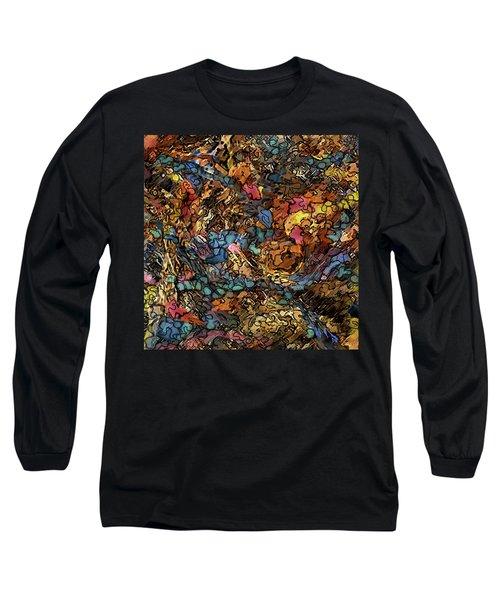Volcanic Flow Long Sleeve T-Shirt