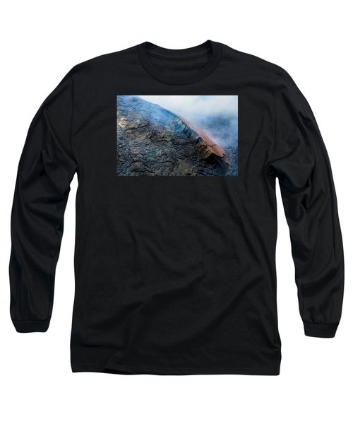 Long Sleeve T-Shirt featuring the photograph Volcanic Ridge by M G Whittingham