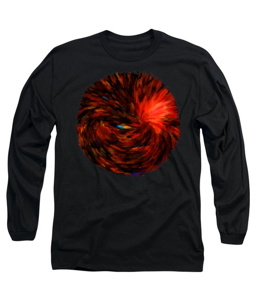 Vortex 2 Long Sleeve T-Shirt by John M Bailey