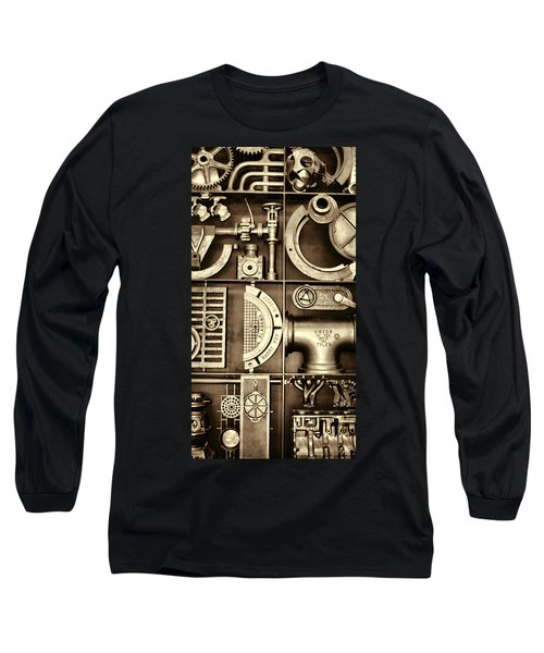 Vulcan Steel Steampunk Ironworks Long Sleeve T-Shirt