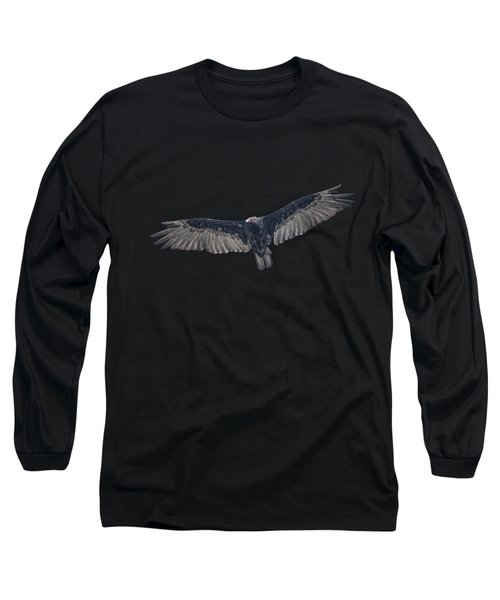Vulture Over Olympus Long Sleeve T-Shirt