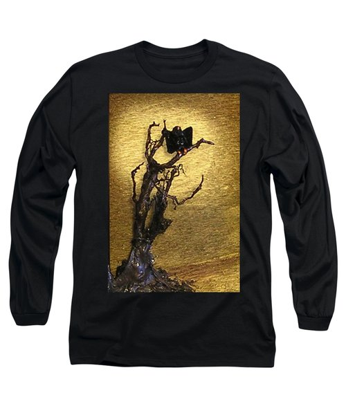 Vulture With Textured Sun Long Sleeve T-Shirt
