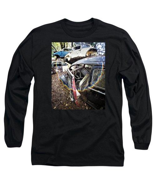 Vw And Friends Graveyard Long Sleeve T-Shirt