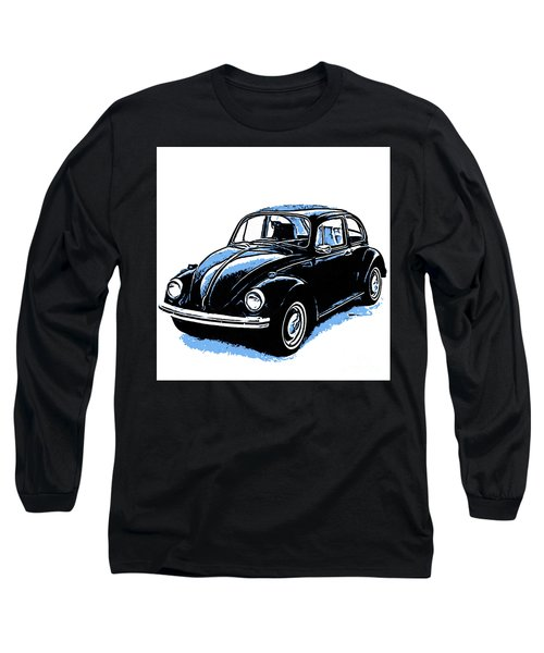Vw Beetle Graphic Long Sleeve T-Shirt
