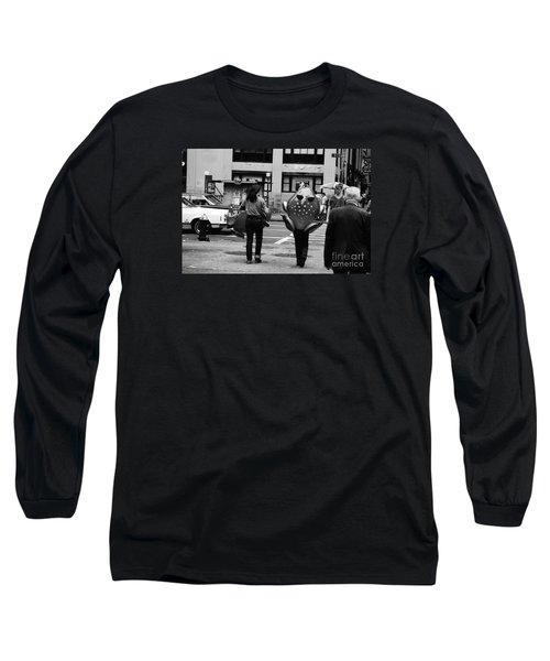 W 34th Long Sleeve T-Shirt by Steven Macanka