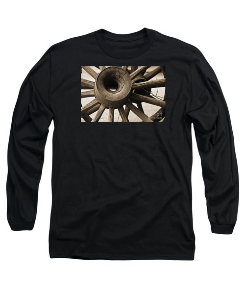 Wagon Wheel Hub Long Sleeve T-Shirt