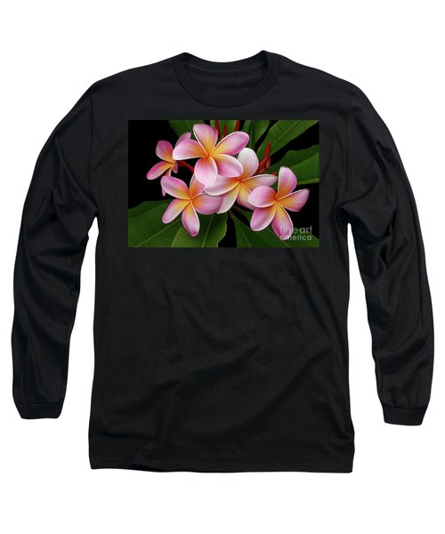 Wailua Sweet Love Texture Long Sleeve T-Shirt