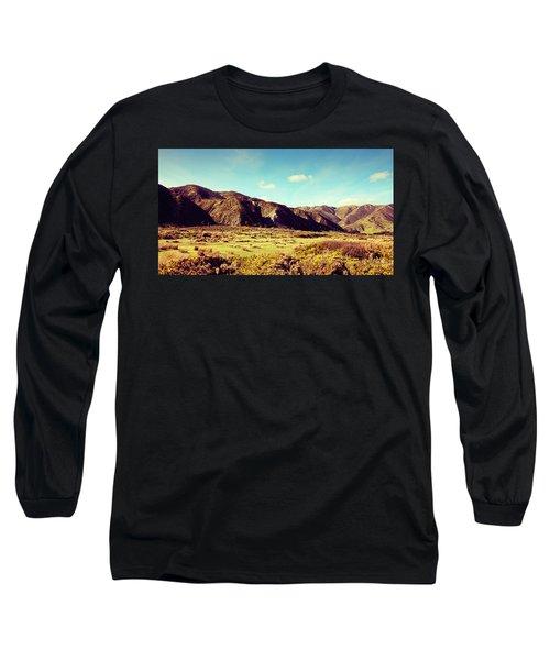 Wainui Hills Long Sleeve T-Shirt by Joseph Westrupp