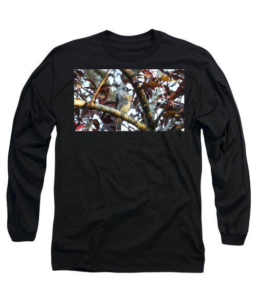 Waiting For Mom Long Sleeve T-Shirt by Judy Wanamaker