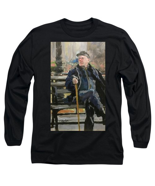 Waiting On The Bus Long Sleeve T-Shirt