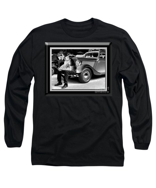 Waiting  Long Sleeve T-Shirt by Sue Stefanowicz