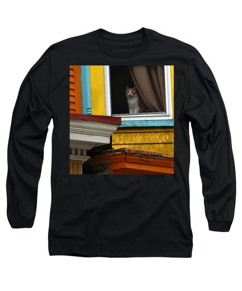 Waiting... Long Sleeve T-Shirt by Yvonne Wright