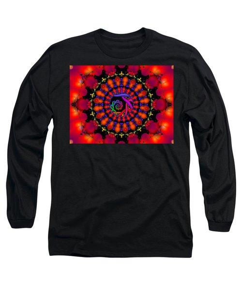 Long Sleeve T-Shirt featuring the digital art Wake by Robert Orinski