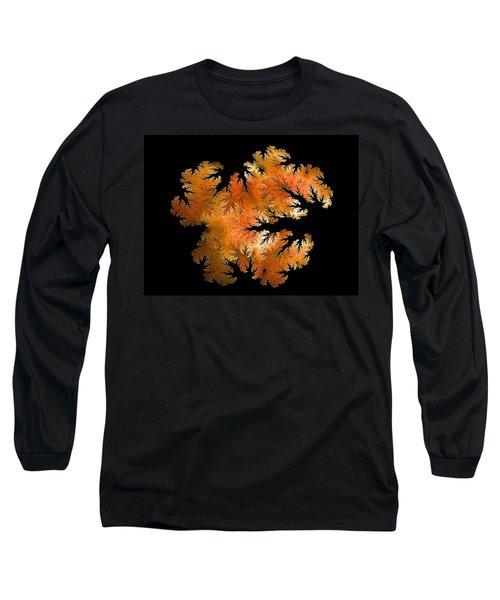 Waking In Mandelbrot Forest-2 Long Sleeve T-Shirt