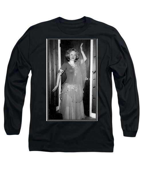 Long Sleeve T-Shirt featuring the photograph Walk Like An Egyptian by Denise Fulmer