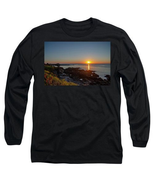 Walkers Point - Sunrise In Kennebunkport Maine Long Sleeve T-Shirt
