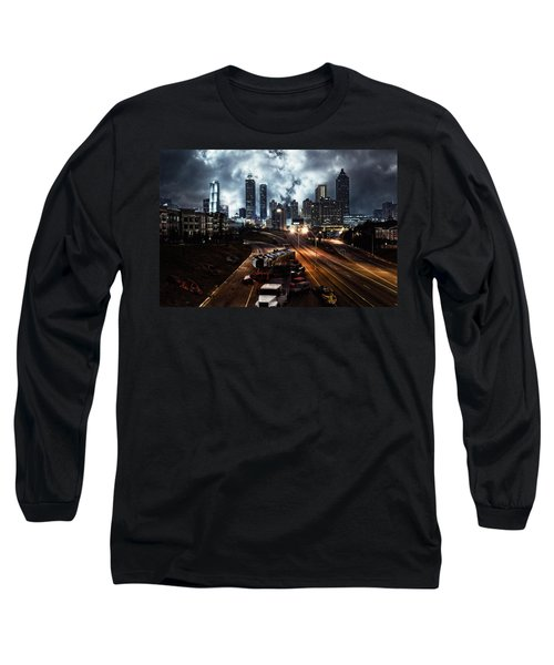 Walking Dead Tribute Downtown Atlanta Georgia  Long Sleeve T-Shirt