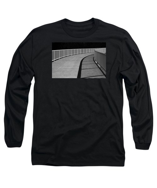 Long Sleeve T-Shirt featuring the photograph Walkway by Chevy Fleet