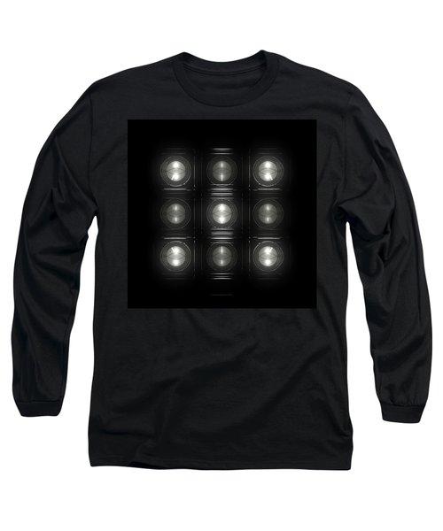 Wall Of Roundels 3x3 Long Sleeve T-Shirt