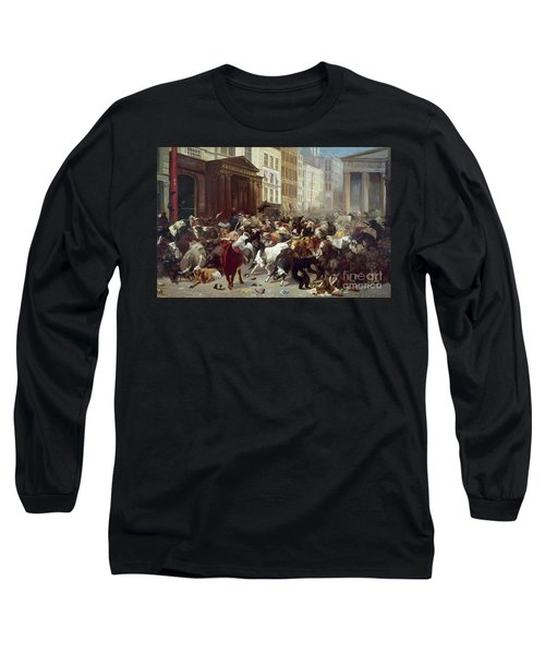 Wall Street: Bears & Bulls Long Sleeve T-Shirt