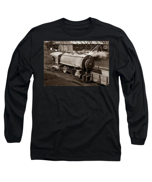 Wanamie Pennsylvania Coal Mine Locomotive Lokey 1969... Long Sleeve T-Shirt
