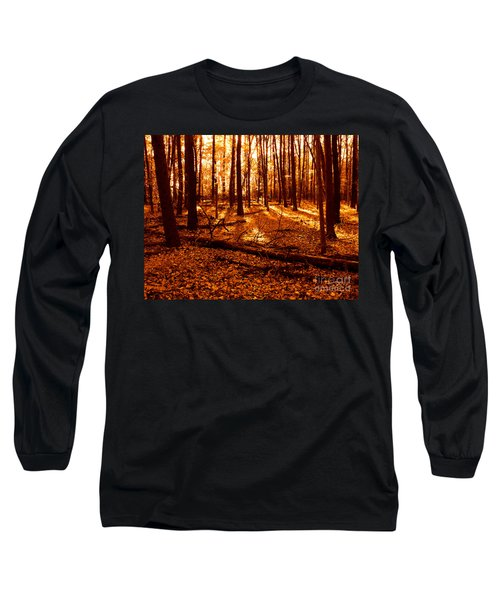 Warm Woods Long Sleeve T-Shirt