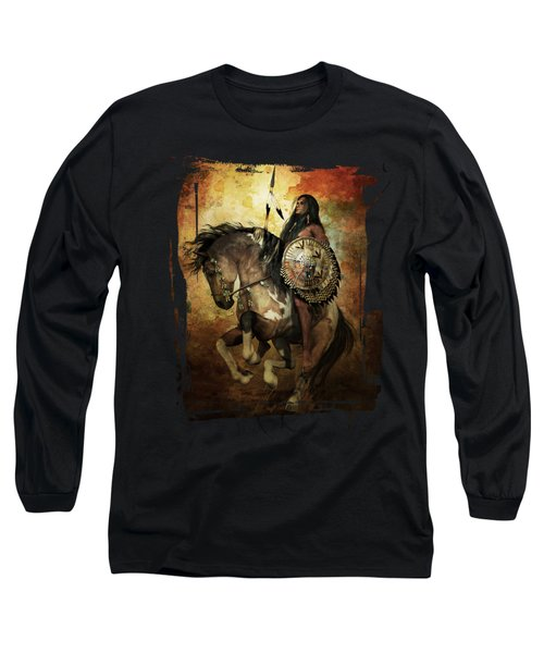 Warrior Long Sleeve T-Shirt by Shanina Conway