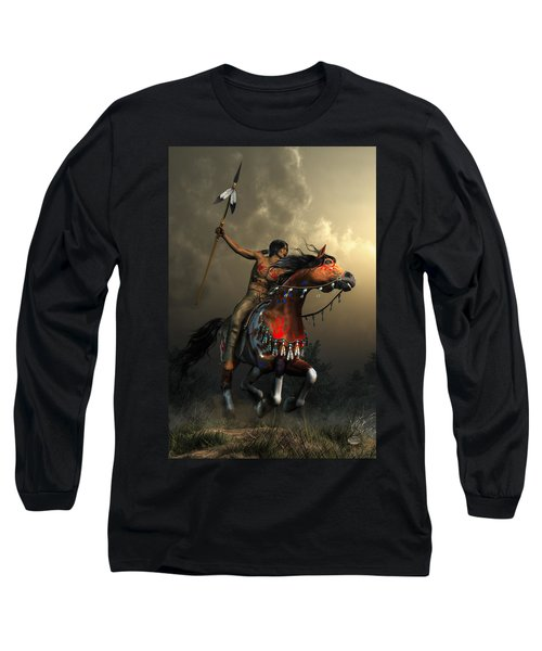 Warriors Of The Plains Long Sleeve T-Shirt