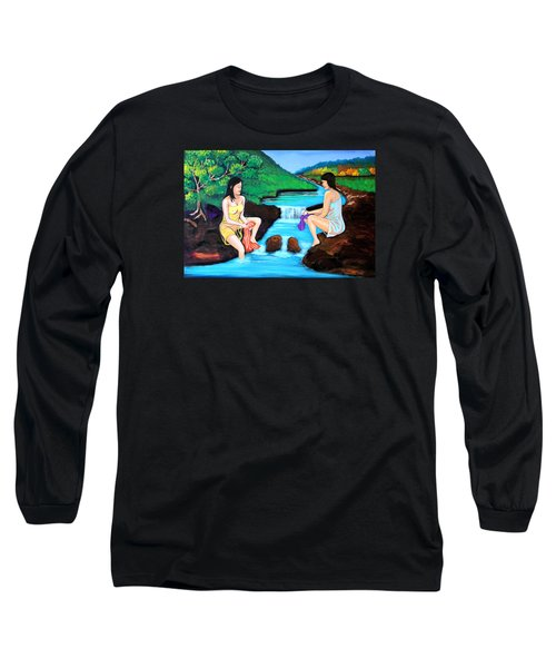 Washing In The River Long Sleeve T-Shirt