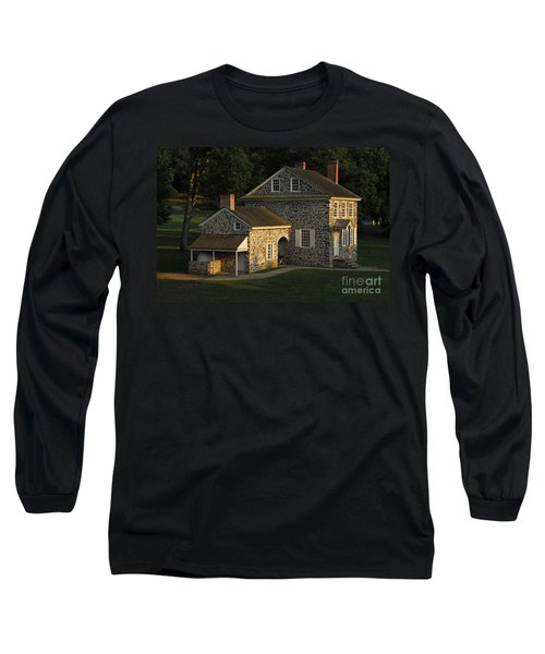 Washington's Headquarters At Valley Forge Long Sleeve T-Shirt by Cindy Manero