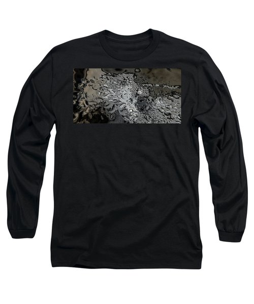 Water Abstract 7 Long Sleeve T-Shirt
