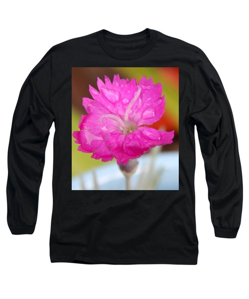 Water Bug Flower Long Sleeve T-Shirt by Samantha Thome