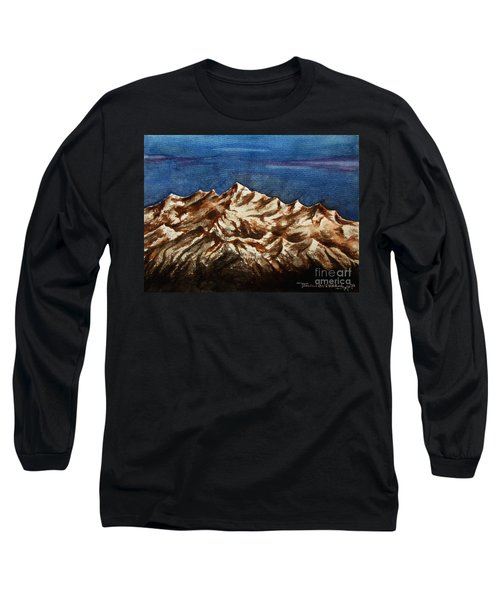 Water Color-6 Long Sleeve T-Shirt