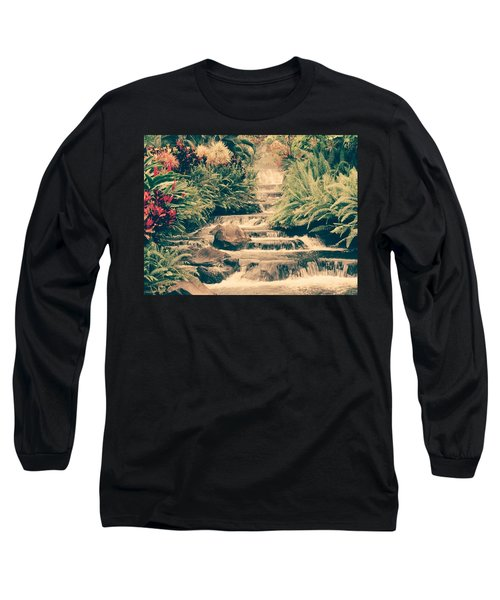 Long Sleeve T-Shirt featuring the photograph Water Creek by Sheila Mcdonald