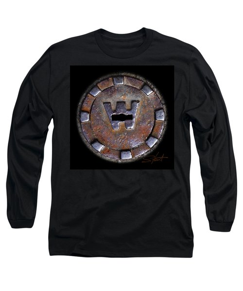 Water Hole 3 Long Sleeve T-Shirt by Charles Stuart