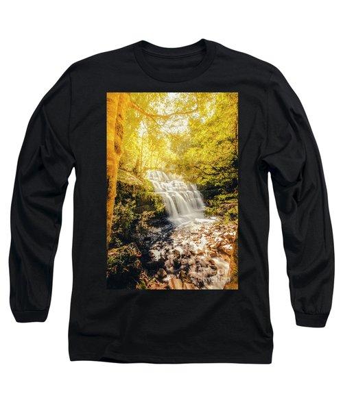 Water In Fall Long Sleeve T-Shirt