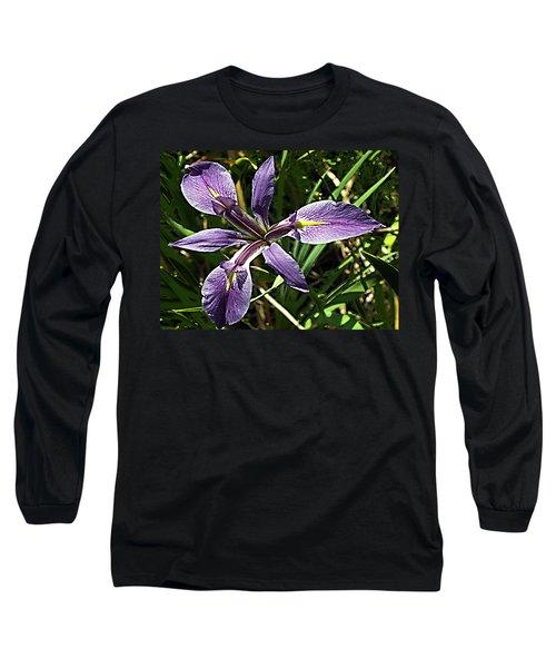 Water Iris Long Sleeve T-Shirt