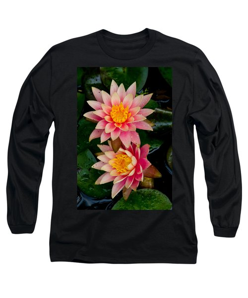 Long Sleeve T-Shirt featuring the photograph Water Lilies by Brent L Ander