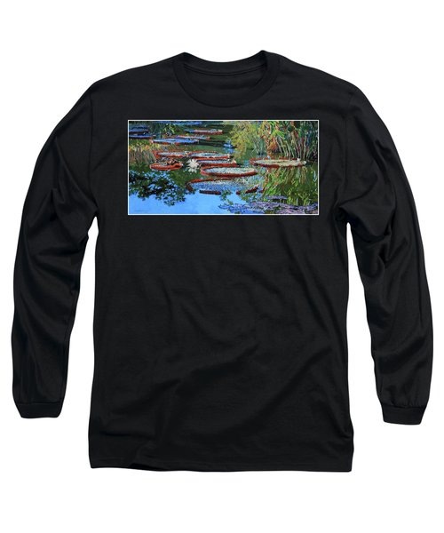 Water Lilies For Amelia Long Sleeve T-Shirt